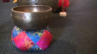 Tibetan Singing Bowl Sound Medium: Single Meditation Bell Sound