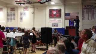 Skyrim Theme preformed by Heritage High School Live