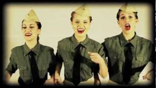 The Andrews Sisters - Boogie Woogie Bugle Boy of Company B - Cover by The Honeybee Trio