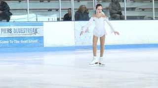 Anna Skating To Swan Lake