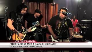 """Fallece vocalista de la banda panameña """"Llevarte a Marte"""""""