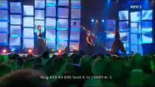 Alexander Rybak - Melodi Grand Prix Final - Fairytale live