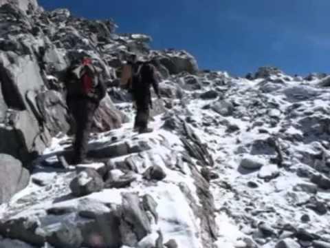 Nepal, Khumbu – Cho La,  l'arrivo