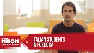 Student Interviews at Fukuoka Foreign Language College (FFLC) by Go! Go! Nihon