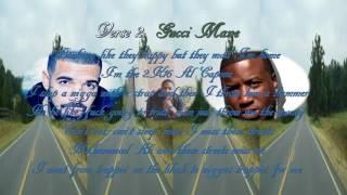 Gucci Mane  Back On Road ft Drake Official music lyrics