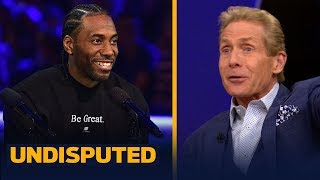 Skip Bayless recalls meeting Kawhi's Uncle Dennis at the Pacquiao-Thurman fight   UNDISPUTED