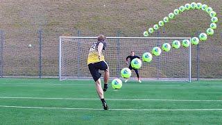 Insane Helium Football Free Kicks & Saves