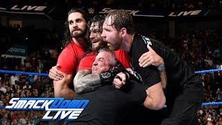 Kurt Angle & The Shield lead a Raw raid of SmackDown: SmackDown LIVE, Nov. 14, 2017 width=