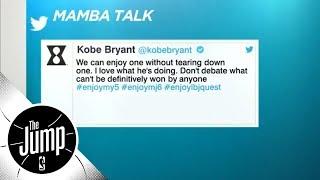 Did Kobe Bryant shut down Michael Jordan vs. LeBron James debate with tweet? | The Jump | ESPN
