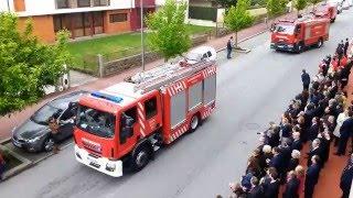 139º Aniversário da R.A.H. de Bombeiros Voluntários de Vizela - Desfile de viaturas