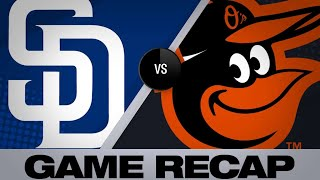 Machado, Margot power Padres to an 8-3 win | Padres-Orioles Game Highlights 6/25/19