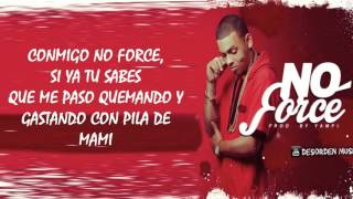 Ozuna Conmigo No Force Letra