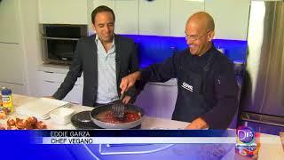 Eddie Garza preparó una deliciosa y saludable receta con productos Goya