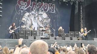 Saxon - And the bands played on - Live at Getaway Rock Gävle 2012-07-07