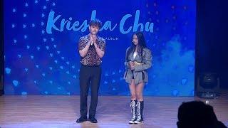 Kreisha Chu(크리샤 츄)·Yong Jun Hyung(용준형) Showcase TALK (Trouble, 트러블, K팝스타6, KPOP STAR 6)