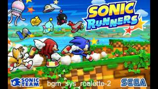Sonic Runners Music   bgm sys roulette 2