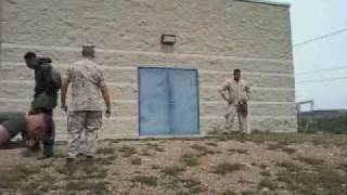 WOW VIDEO - USMC Gas Chamber Last Man Standing!