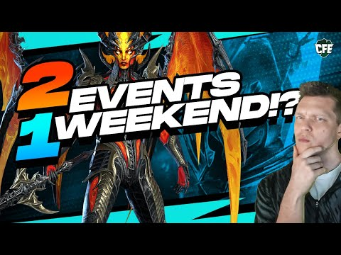 Dragon Ends SOON! TWO Events, ONE Weekend! | RAID Shadow Legends