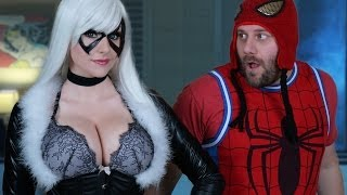Talk Nerdy To Me- ft Black Cat Cosplay