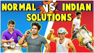 Normal vs Indian Solution | The Half-Ticket Shows