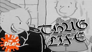 '90s Nicktoons Thug Life Compilation | The Splat