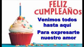 Feliz Cumpleaños - Felicidades - Mariachi Azteca - Letra Subtitulado en Español