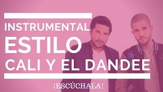 Instrumental Estilo Cali y Dandee   Piso 21   Pasabordo    R&B Beat   Pista Balada Pop   Piano 2018