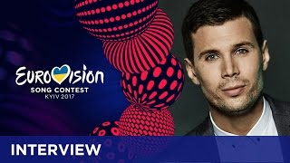 Robin Bengtsson (Sweden): 'It's just a flirty song!'