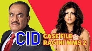 CID vs Sunny Leone - Case Of Sunny Leone's Stolen Panties | Spoof (2014) [Being Indian] width=