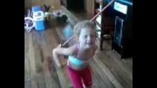 Nina-dançando psy-17/10/2012