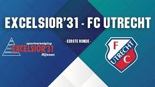 Screenshot van video Promo | Voorverkoop kaarten Excelsior'31 - FC Utrecht gestart