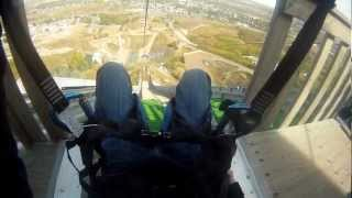 Olympic Park Zip-line in Calgary, North Americas Fastest!!