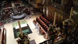 Morning Gregorian chant, September 11, 2016, by the Benedict monks of Montserrat
