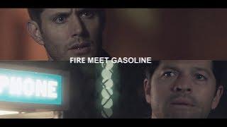 destiel | fire meet gasoline [+13x05]