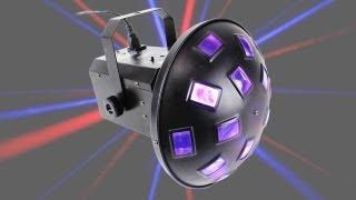 BeamZ LED Mushroom RGB Light 20W DJ Party Professional Club Stage Effect