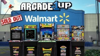 Arcade1Up Arcade Cabinets SOLD OUT At Walmart!