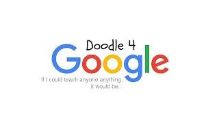 Doodle4Google 2016 | Doodling Is Fun