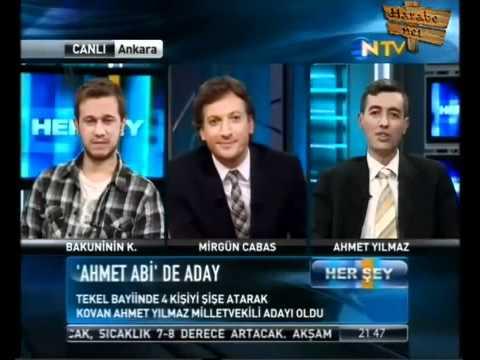 İnci Sözlük Bagımsız Milletvekili Adayı Ahmet Abi NTV'de