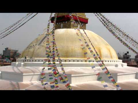 SANY0752.MP4 BoudhaNath Stupa Movie