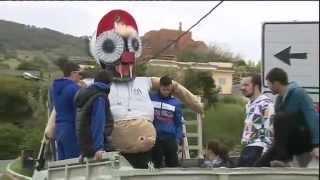 La Quema de Jugas de Valleseco noticia en los informativos de RTVC