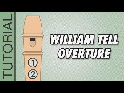 Comment jouer l'Ouverture de Guillaume Tell de Rossini à la flûte