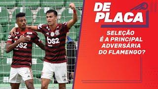 FLAMENGO abre nova vantagem sobre o PALMEIRAS no BRASILEIRÃO! | De Placa ao vivo (07/10/2019)
