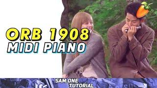 ( Midi piano yang Sangat-sangat Singkat ) Ultraman Orb Soundtrack 1908 ( Toku Dalam Nada )