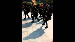BTS防彈少年團 紅白演唱會-場外DAZZLING翻跳run