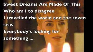 Eurythmics - Sweet Dreams(Are Made Of This)