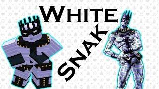 White Snake Showcase - Roblox Project Jojo