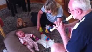 Gramps recorder, Austin dancing