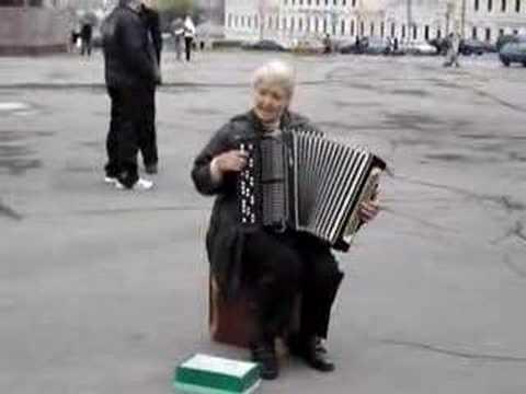 Russian Folk Music in Ukraine- slow tempo