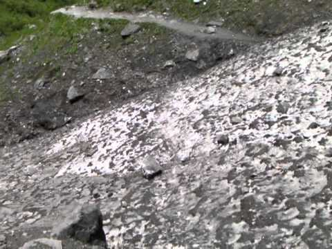Gevaarlijk – Icefall op trekking ABC in Nepal