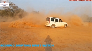 The Ultimate || Mahindra Scorpio || Drifting Video In India.